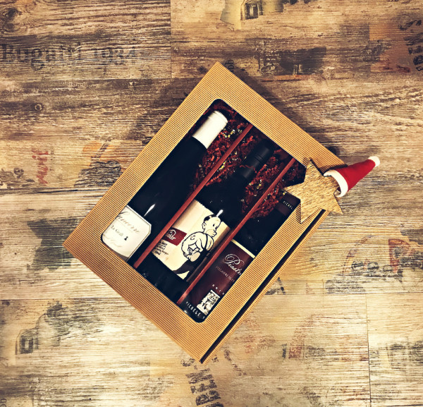 3er PRÄSENT-BOX NOBEL - 3 Flaschen in Geschenkbox