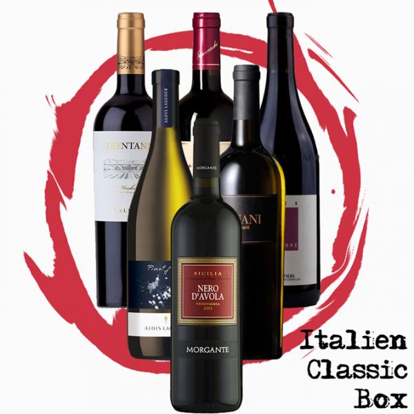 "AixVinum ""Italien Classic Box"" - 6 Flaschen unserer italienischen Klassiker"