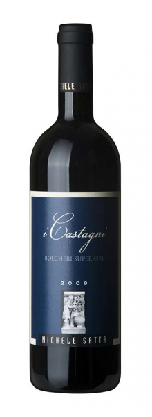 Michele Satta I Castagni Bolgheri Superiore DOC 2015 Toskana Italien Rotwein