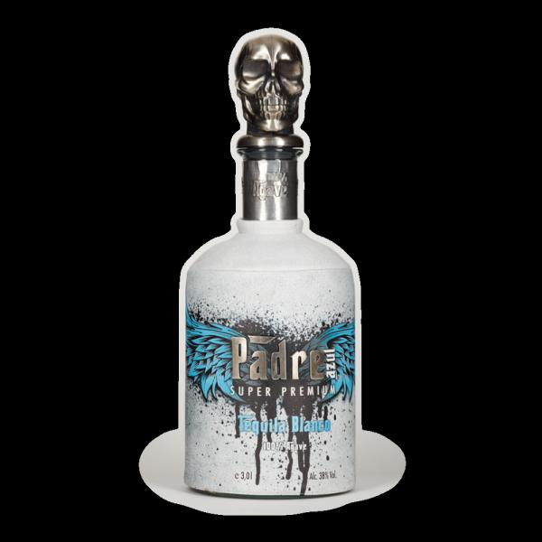 Padre azul Blanco 0,7Liter 38% Vol. Mexiko Jalisco Tequila