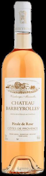 Château Barbeyrolles, LE PÉTALE DE ROSE ORGANIC AOP de Proverce 2019 Frankreich Provence Rose