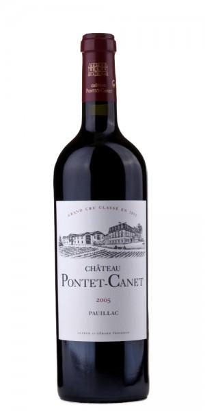Château Pontet Canet Pauillac Grand Cru Classe 2005 Frankreich Bordeaux Rotwein