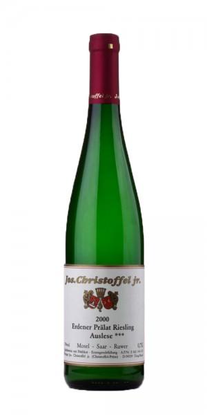 Jos. Christoffel Jr. Prälat Riesling Auslese *** 2015 Deutschland Mosel Weißwein