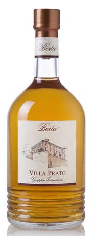Berta Villa Prato Invecchiata - 40 Gr. Italien Piemont Grappa