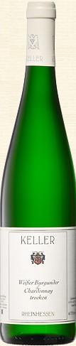 Keller Weissburgunder Chardonnay trocken 2018 Deutschland Rheinhessen Weißwein