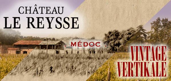 """Probierbox: Chateau Le Reysse """"6 verschiedene Spitzenweine"""" Frankreich Bordeaux Rotwein - RARITÄT"""