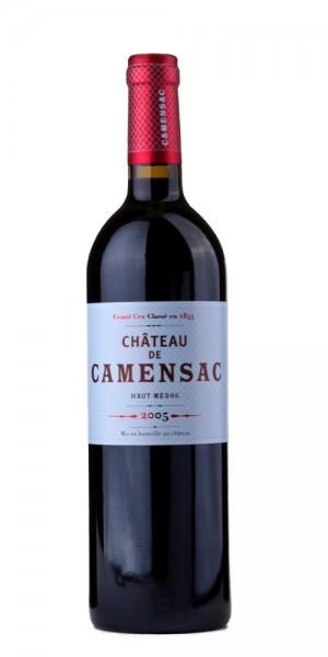 Château Camensac Haut-Medoc 2005 Frankreich Bordeaux Rotwein