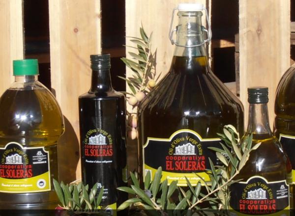 Olio Extra Vergine, El Soleras, Oli d' Oliva Verge Extra - 0,75 Liter