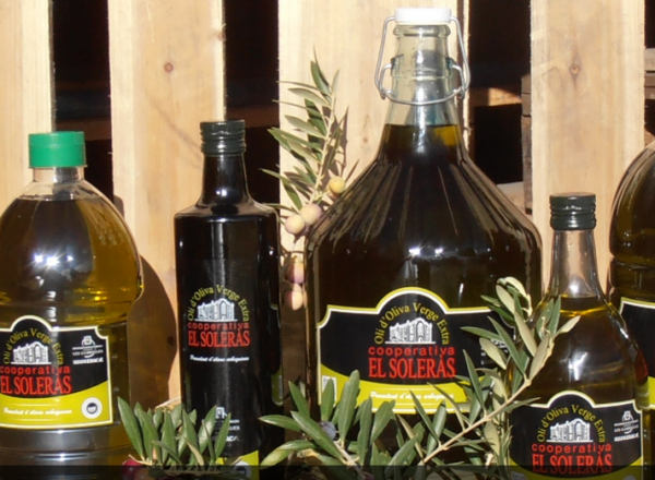 Olio Extra Vergine, El Soleras, Oli d' Oliva Verge Extra - 2 Liter