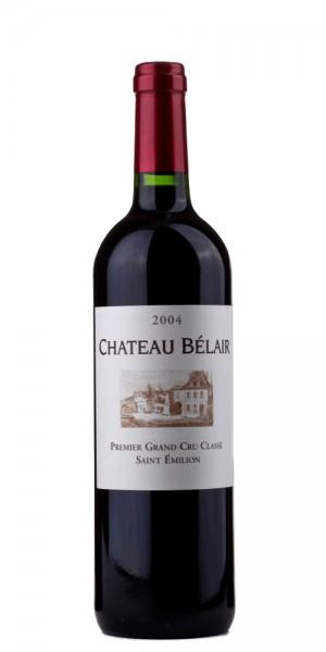 Château Belair St. Emilion 1er Grand Cru Classe 2004 Frankreich Bordeaux Rotwein