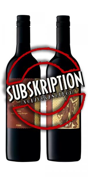 SUBSKRIPTION - Mollydooker Two Left Feet 12 Flaschen jg. 2019 in Subskription