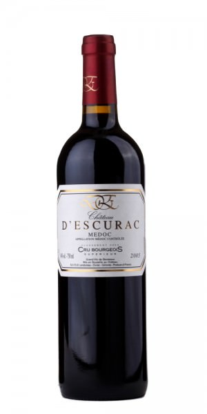 Château D' Escurac Medoc Cru Bourgeois 2009 Frankreich Bordeaux Rotwein