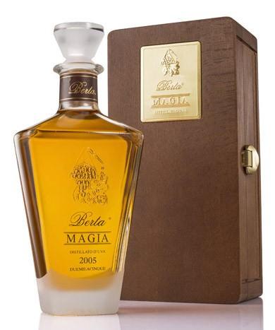 Berta Magia 1998 - 43 Gr. Italien Piemont Grappa