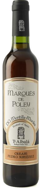 Toro Albala, Marqués de Poley P.X. Cream 0,5 Liter Spanien D.O. Montilla-Moriles