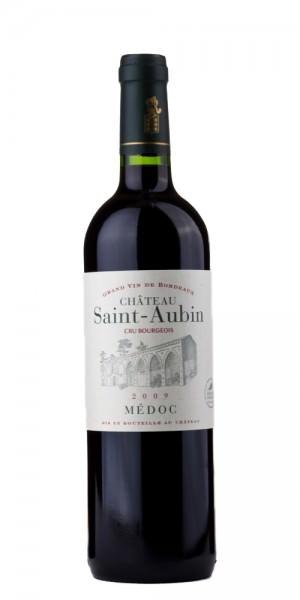 Chateau Saint Aubin Medoc Cru Bourgeois 2015 Frankreich Bordeaux Rotwein
