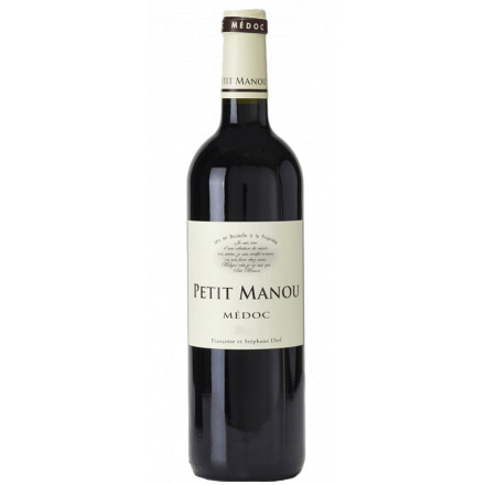 Petit Manou Medoc AOC 2016 Frankreich Bordeaux Rotwein