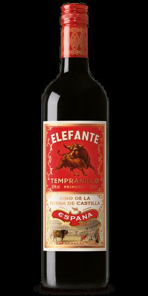 Fourth W. Wines Elefante Tempranillo 2016, Spanien, La Mancha, Rotwein