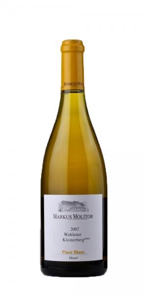 Markus Molitor Pinot Blanc Dreistern Wehlener Klosterberg 2016 Deutschland Mosel Weißwein
