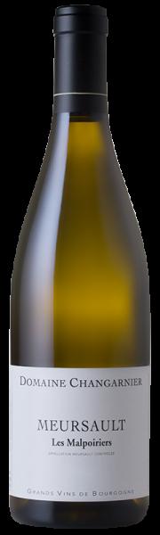 Changarnier Frères Mersault Les Malpoiriers Blanc 2017 Frankreich Burgund Weißwein