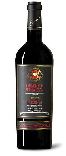 Il Poggione Brunello di Montalcino Magnum Riserva Vigna Paganelli DOCG 2010 Italien Toskana Rotwein
