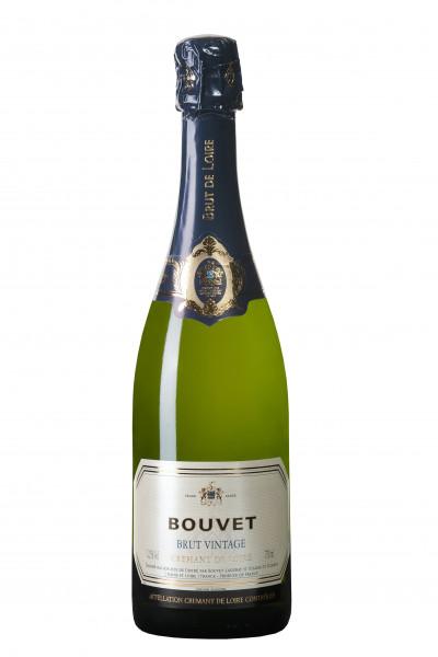 Bouvet Cremant de Loire Chardonnay Brut Vintage 2014 Frankreich Loire Schaumwein