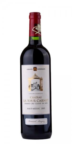 Chât. La Tour Carnet Haut-Medoc Grand Cru Classe 2005 Frankreich Bordeaux Rotwein