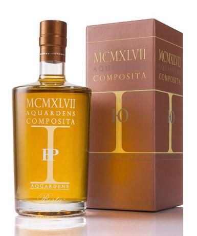 Berta MCMXLVII AQUARDENS COMPOSITA- 43 Gr. Italien Piemont Destillat