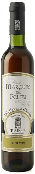 Toro Albala, Marqués de Poley P.X. Oloroso 0,5 Liter Spanien D.O. Montilla-Moriles