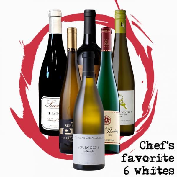 """AixVinum """"Chef's favorite 6 whites"""" - 6 Flaschen Weisswein"""