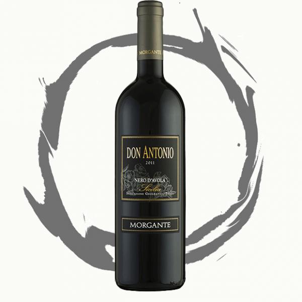 RARITÄT - Morgante Don Antonio Nero D'Avola 2001 Italien Sizilien Rotwein