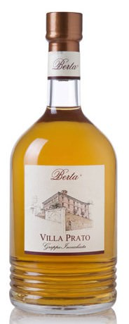 Berta Villa Prato Elisir - 40 Gr. Italien Piemont Grappa