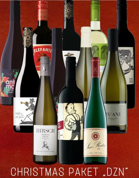 """AixVinum """"Unsere 12 Bestseller Box"""" - 12 Flaschen Rot- und Weisswein"""