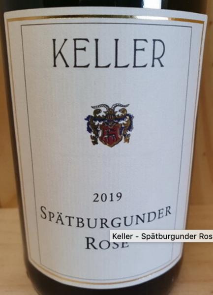 Keller Spätburgunder Rose 2018 Deutschland Rheinhessen Rosewein