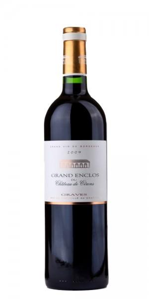Chât. de Cerons Grand Enclos, Graves Rouge 2009 Doppelmagnum in HK Frankreich Bordeaux Rotwein