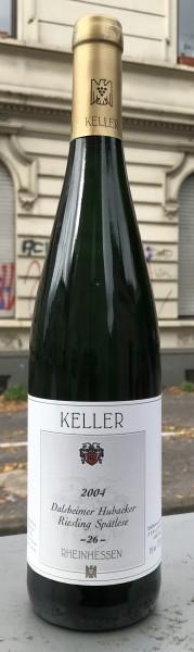 Keller Riesling Spätlese 26 Hubacker GK 2004 Deutschland Rheinhessen Weißwein