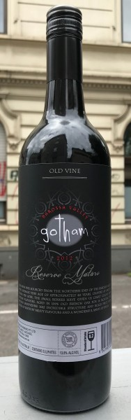 Wine Men of Gotham Reserve Mataro Old Vines 2012 Australien Rotwein