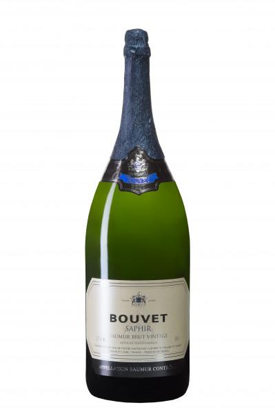 Bouvet Saphir Saumur Brut 2014 - 6 Liter Frankreich Loire Schaumwein