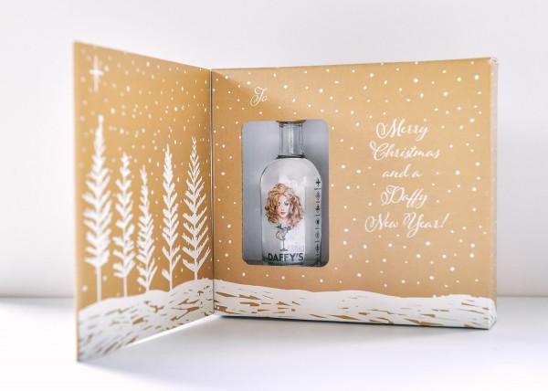 Daffy's Gin Christmas Card