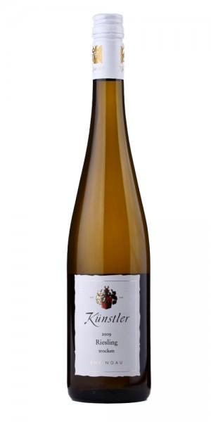 Weingut Künstler Riesling trocken 2015 Deutschland Rheingau Weißwein
