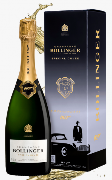 Bollinger Champagner Special Cuvée Brut 007 Limited Edition Frankreich Champagne