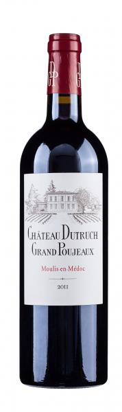 Dutruch Grand Poujeaux Moulis Cru Burgeois 2011 Frankreich Bordeaux Rotwein