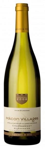 Vignerons de Buxy Mâcon Villages Chardonnay Buissonnier 2018 Frankreich Burgund Weißwein