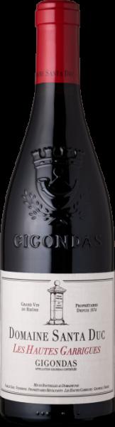 Santa Duc Gigondas Hautes Garrigues 2015 Frankreich Rhone Rotwein - BIODYN