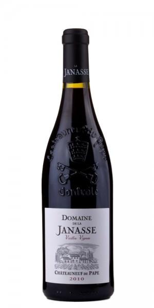 Domaine de la Janasse Châteauneuf-du-Pâpe Vielles Vignes 2010 Frankreich Rhone Rotwein