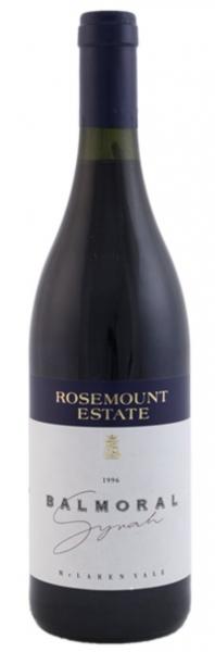Rosemount Estate Balmoral Syrah 1996 Australien Rotwein