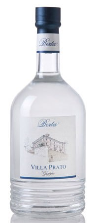 Berta Villa Prato - 40 Gr. Italien Piemont Grappa