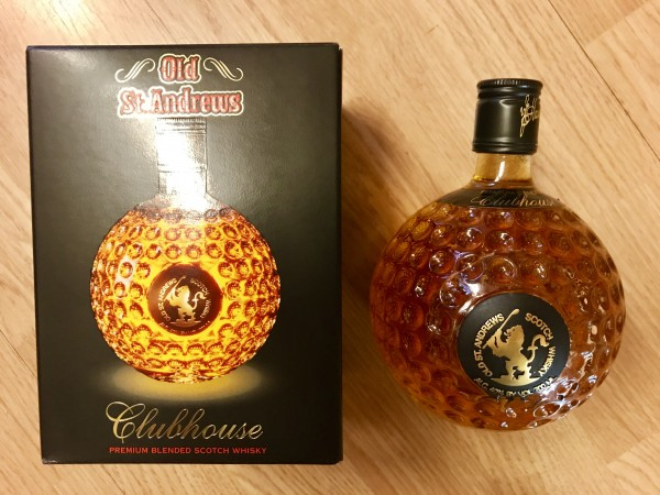 Old St. Andrews Blended Scotch - Golfball - Präsentbox 0,7l
