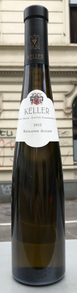 Keller Rieslaner Auslese 2012 1/2 Fl. Deutschland Rheinhessen Weißwein