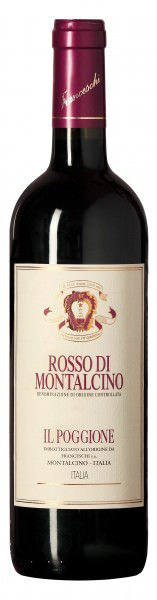 Il Poggione Rosso di Montalcino 1/2 Flasche 2012 Italien Toskana Rotwein